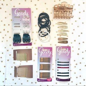 Bundle / Lot of Goody hair accessories